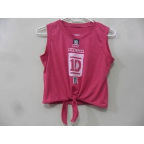 Blusa Camisa One Direction Artistas Online Talla: S M Jaspe