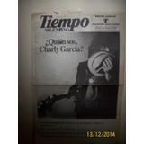 Diario Tiempo Argentino Recital De Charly En Ferro 26/12/82
