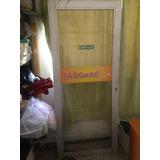Puerta De Alumino Con Vidrio 6mm Manilla Y Gato Hidrablico