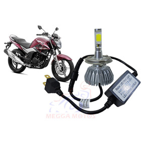 Lampada Farol Xenon Moto Led Branca Cb 300 Twister Xj6 Fazer