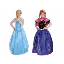 Disfraz Para Niñas Elsa Y Anna De Frozen