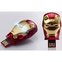 Kit 10 Pen Drive Homem De Ferro 3 32gb Iron Man