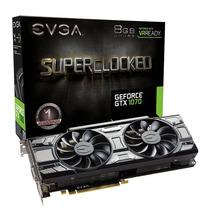 Placa Vga Evga Geforce Gtx 1070 Sc Gaming 8gb S/ Juros