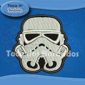 Patch Bordado Star Wars 8x8cm Clone Gms105