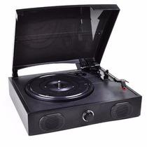 Vibe Sound Vs-2002-spk Usb Tocadiscos Vocinas Repro. Vinilos