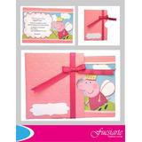 Tarjetas De Invitación Para Cumpleaños Peppa Pig