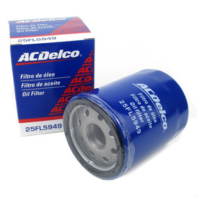 Filtro De Oleo Fiat Motor Fire Flex 05/... Acdelco 25fl5949
