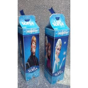 10 Dulceros, Cajas De Carton Personalizada Frozen, Cajitas