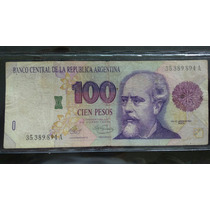 Billete De 100 Convertible De Curso Legal Serie Vieja
