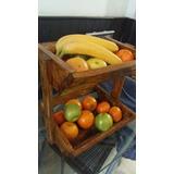 Organizador / Frutero De Frutas Y Verduras Rústico De Palets