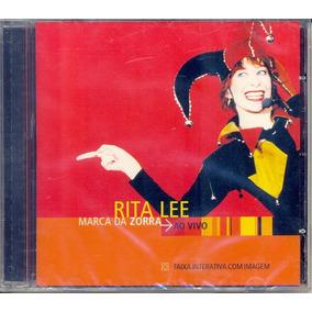 Cd Rita Lee - Marca Da Zorra Ao Vivo (928626)