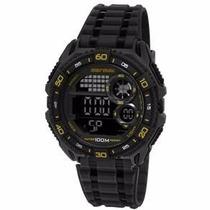 Relógio Mormaii Masculino Wave Digital Mo13617n/8 Wr 100m/