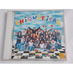 Cd Chiquititas Volume 4 Ano 1999