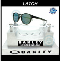 Oakley Latch 9265 05 Matte Olive Ink - Emerald Iridium Nuevo
