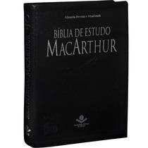 Bíblia De Estudo Macarthur - Luxo - Grande 17 X 23,5
