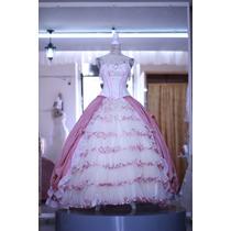 Vestido De Quinceañera Estilo Colonial Unico