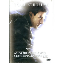 Dvd Sentencia Previa ( Minority Report ) 2002 - Steven Spiel