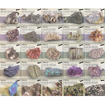 Planillas Completas De Estampillas De Minerales De Mexico