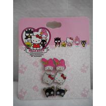 Pares Aretes Hello Kitty 40 Aniversario! Nuevos Envio Gratis