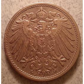 Moneda Del Imperio De Alemania 10 Pfennig Año 1912 Km#12