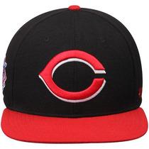 Cincinnati Reds Snapback 47´brand Logo Gigante Envio Gratis