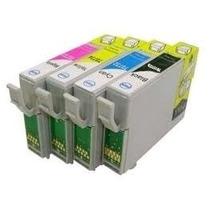 Kit 4 Cartuchos P Impressoras C67 C87 Cx3700 Cx4100 Cx4700