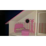 Juego De Muebles Completo Para Casitas De Muñecas Barbie
