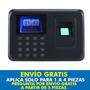 Reloj Checador Biometrico Control Asistencia Huella Digital,