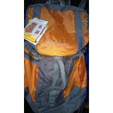 Ozark Trail Mochila Arrowhead 46.7litros Color Naranja-gris