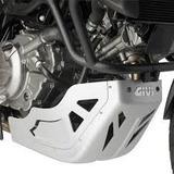 Cubre Carter Aluminio Givi Suzuki Vstrom 650 Moto Delta