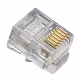 Kit-25peças Conector Rj-11-6x4v-rj-6x6v-rj-12-4x4v-rj45-8x8v