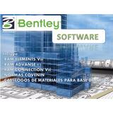 Bentley Software Paquete De Calculo Estructural