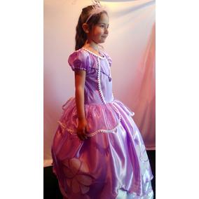 Disfraz Vestido Princesa Sofia Disney Hermoso