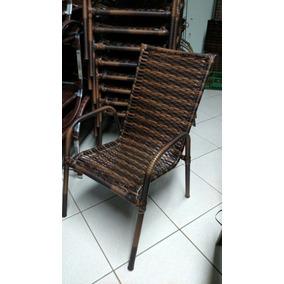 Cadeira Poltrona Area Varanda Junco Fibra Sintética