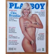 Revista Playboy 386 Mai 99 Cléo Brandão - Ótimo Estado