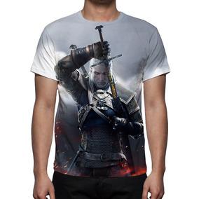 Camisa, Camiseta Game The Witcher 3 Wild Hunt