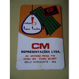 Calendário De Bolso 1974 Cm Representações Ltda