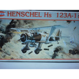 Avion Para Armar Henschel 123a-1