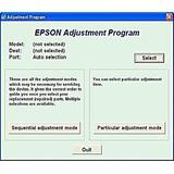 Reset Memoria Eprom De Epson Varios Modelos