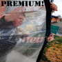 Lona Transparente 8,5x4,5 Pvc Vinil Emborrachada Anti-chamas