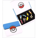 Pokemon Go Medallas De Gimnasios Unova- 8pcs(blanco Y Negro)