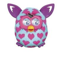 Furby Boom A6806 Hasbro Coração Rosa Portug + Ovo De Brinde