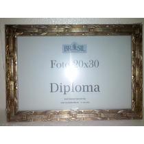 Porta Retrato/ Diploma Moldura 20x30 Em Madeira De Parede