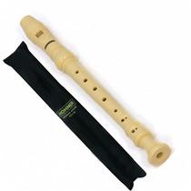 Flauta Doce Germânica Hohner Ivory Em Dó (c) Com Capa