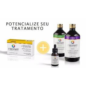 Kit Fibervit + Complex Vitamin - ( 4 Ìtens ) Nutra Hair