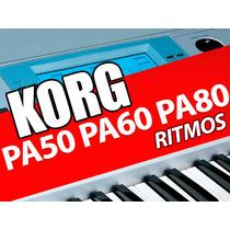 Ritmos Para Tecladistas Korg Pa50 Pa60 Y Pa80