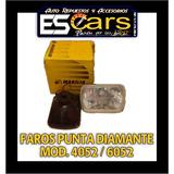 Faros Punta Diamante Chevrolet C/u Marca Marilia