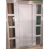 Portada Aluminio De Abrir Puerta + 2 Laterales 160x200 Cm