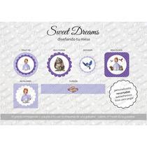 Stickers De Princesita Sofia Cortados Para Candy Bar
