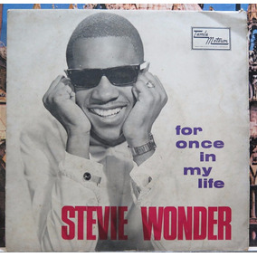 Stevie Wonder For Once In My Life Compacto Importado 45 Rpm